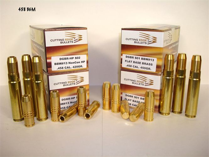 B & M Rifles and Cartridges - 458 B&M